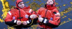 men in sea