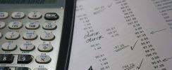 calculator, records