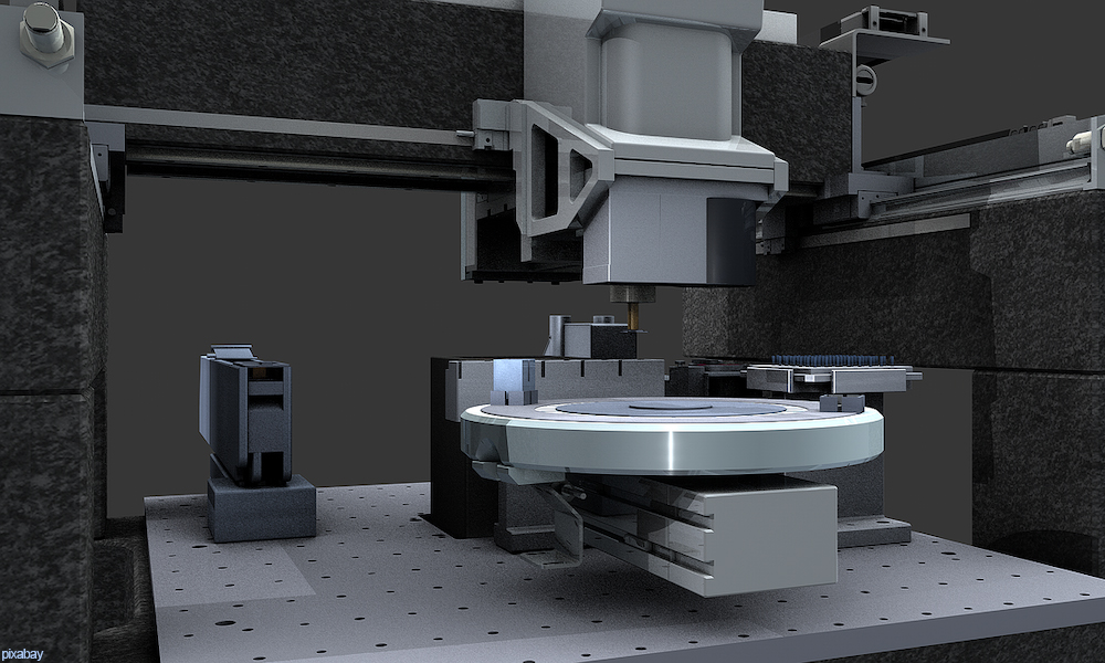 precision CNC machine