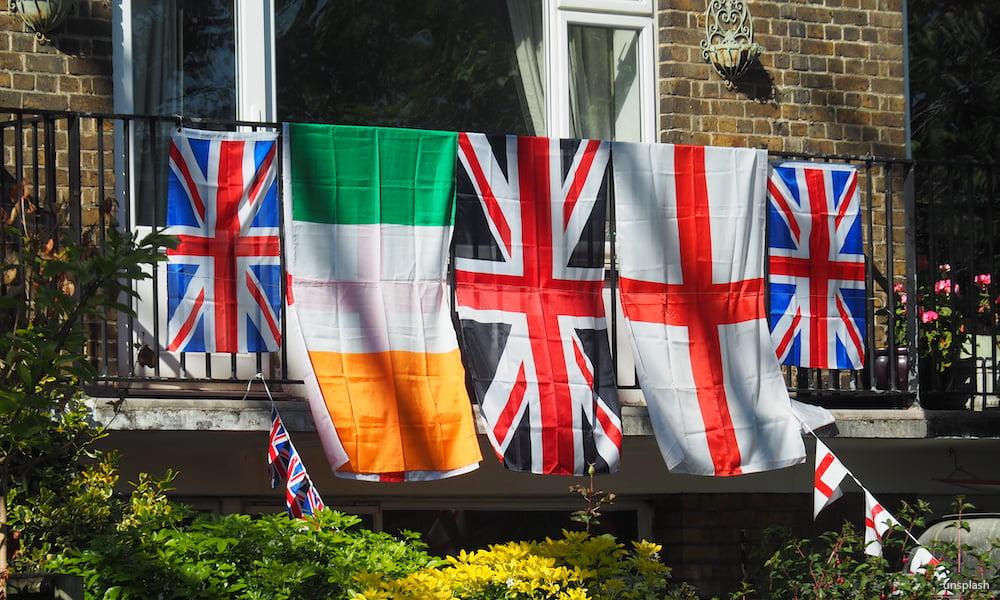 uk ireland flags
